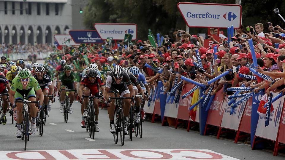 Primera etapa de la Vuelta 2014 en Galicia