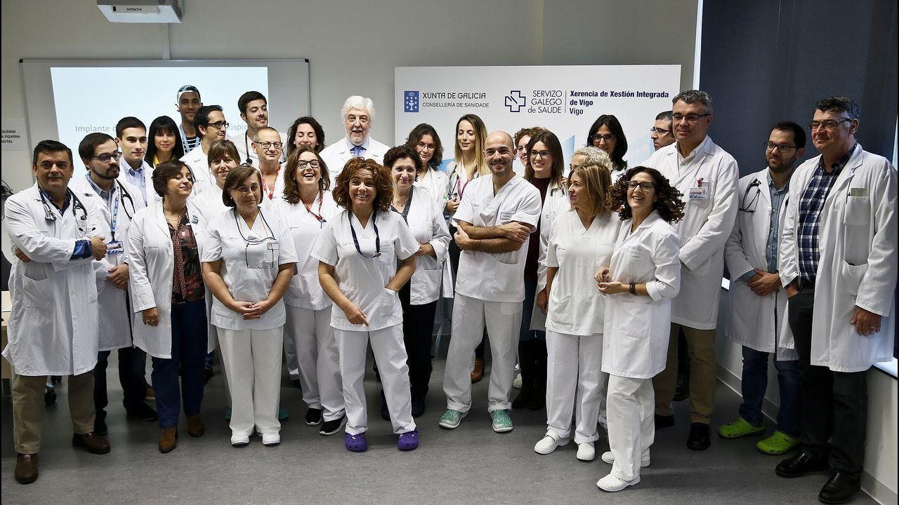 El Cunqueiro implanta una prótesis de corazón que nunca se había usado en España