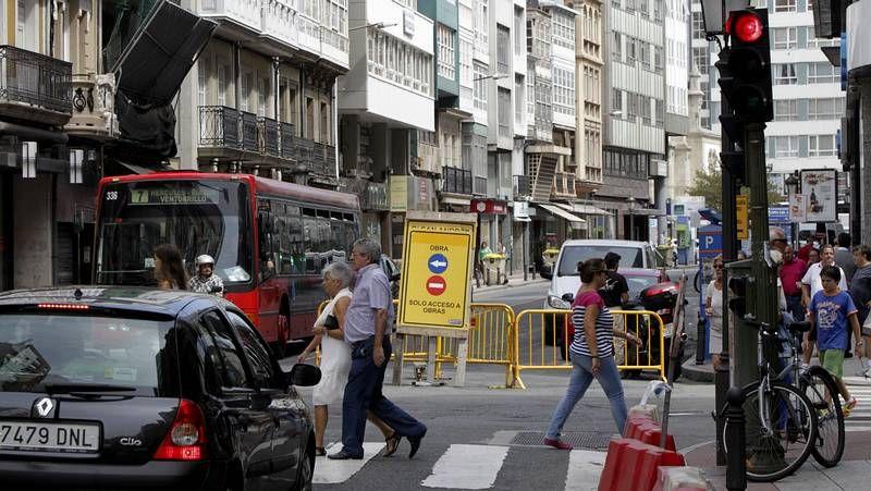 Las obras obligaron a cortar San Andrés al tráfico en febrero.Los organizadores de los tres festivales