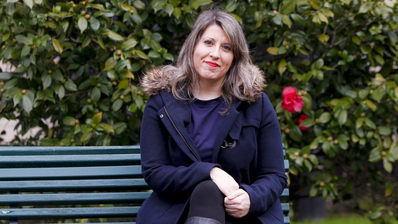 Imagen de Carmen Santos, ex secretaria xeral de Podemos Galicia