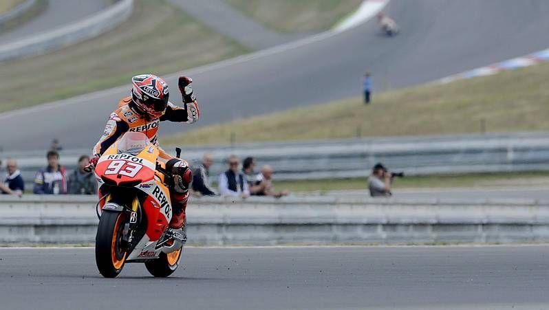 El Gran Premio de Silverstone, en imágenes.Marc Márquez, en Malasia