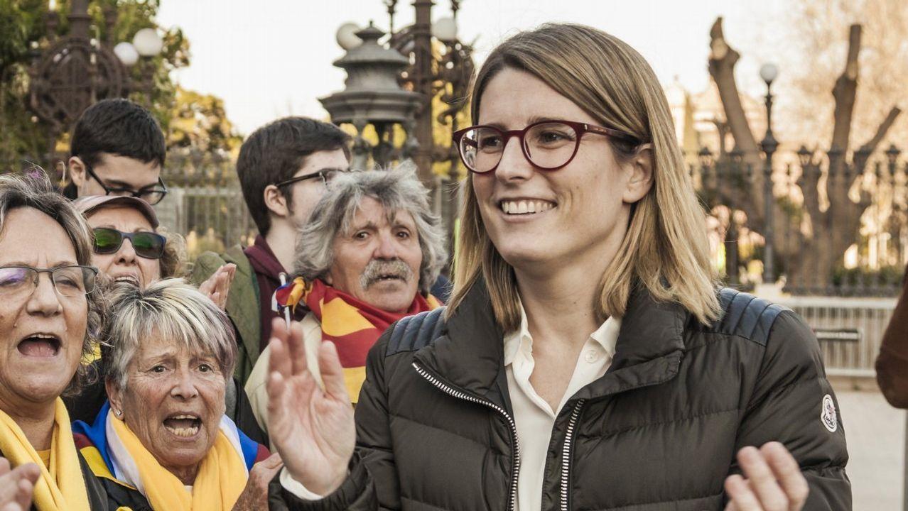 .Elsa Artadi asegura que Puidgemont es el único candidato