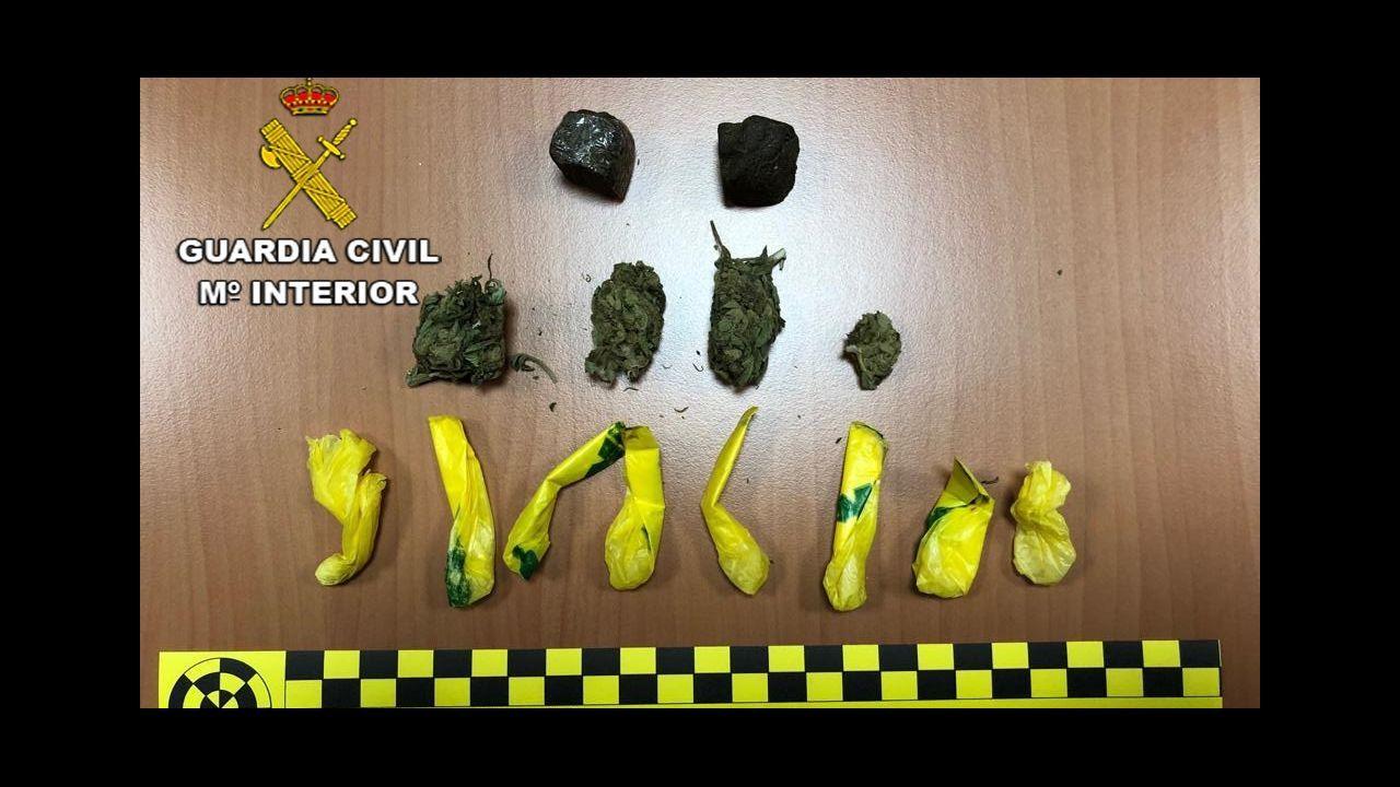 Así opera el Servicio de Bienes Decomisados al Narcotráfico.Imagen de archivo de una incautación de droga en el Campo de Gibraltar