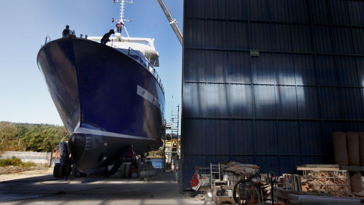 Construcción de un atunero en tierra vikinga