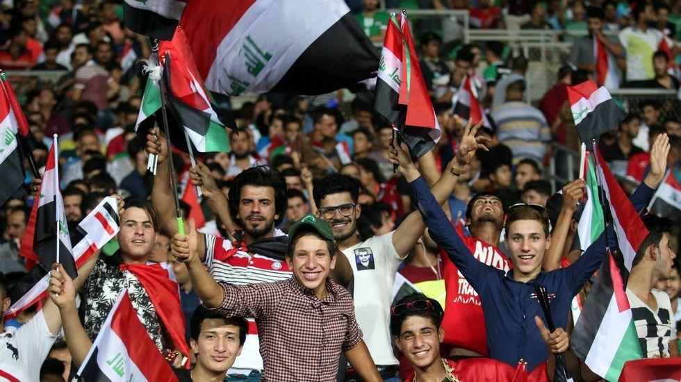 Irak sonríe con el regreso de su selección tras cuatro años.Meré