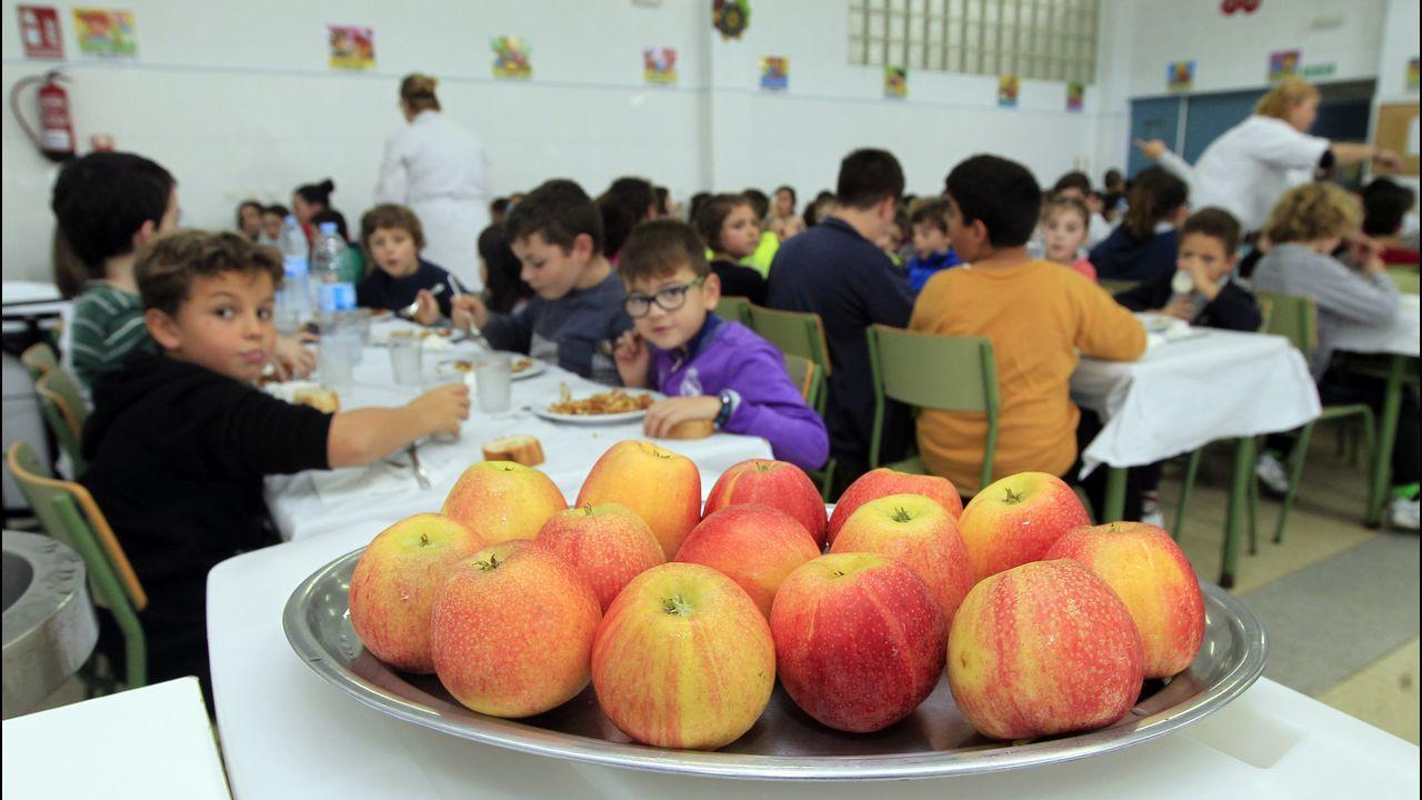La xunta realiza auditor as para controlar los men s escolares - Comedores escolares xunta ...