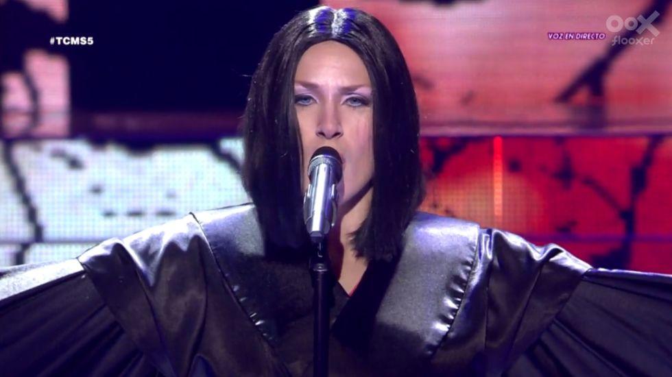 Rosa imita a Madonna: «Frozen».Juan Fernández interpreta al coprotagonista en «Fedra»