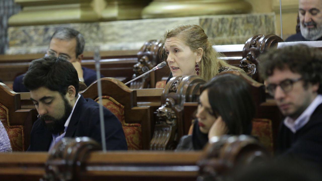 Pleno de presupuestos en María Pita
