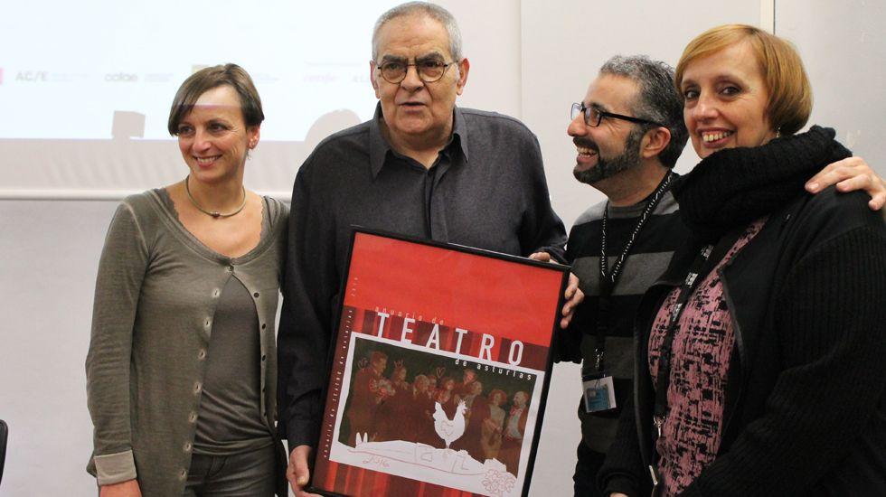 Raquel Huergo, Boni Ortiz, Sergio Gayol y Marián Osácar