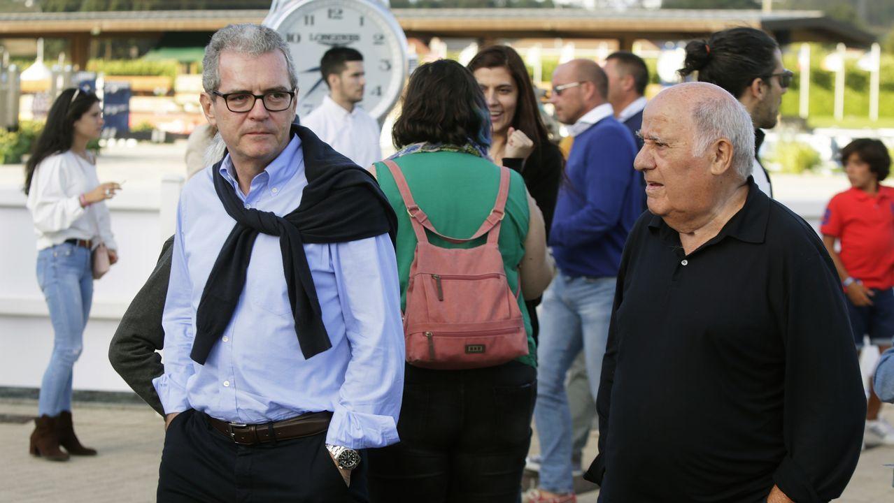 Amancio Ortega y Pablo Isla