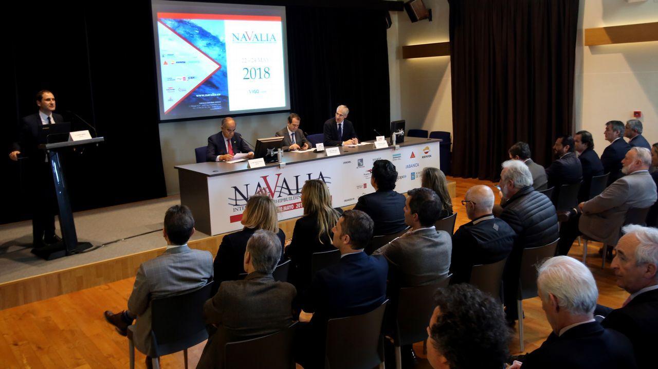 Marcos Freire: «La innovación es un aspecto clave en la recuperación del sector naval».Botas y González-Robatto, en la jornada inaugural de Navalia
