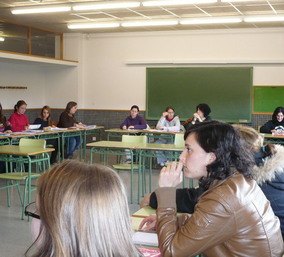 Uno de los cursos que se ofrecen en el aula focense.