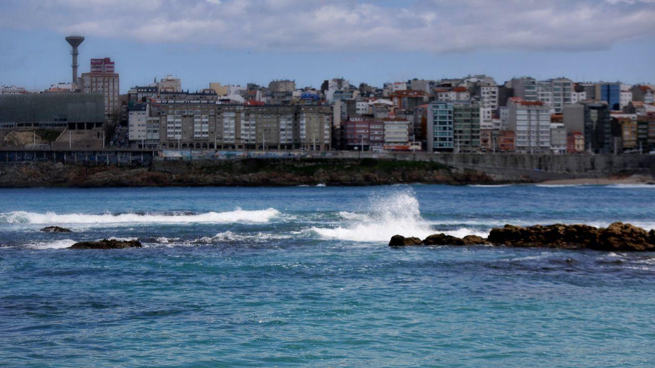 .La playa urbana de A Coruña, Riazor alcanza los 1.945 usuarios que la han mencionado en sus fotos