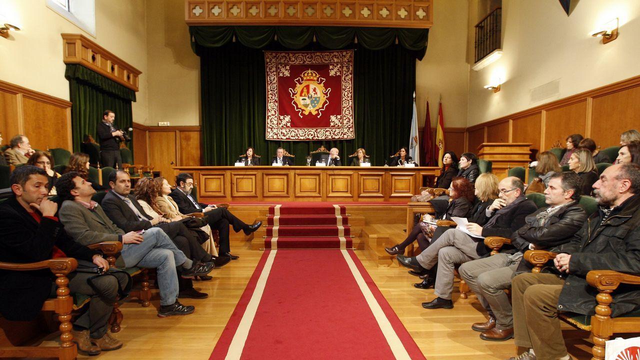 .Acto conmemorativo del día de las mujeres en el Palacio de Fonseca de la USC