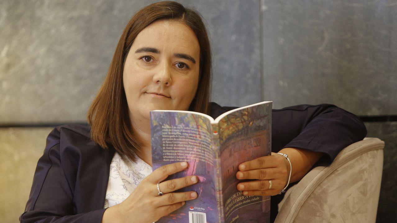 VISTAS DE LA ANTIGUA FÁBRICA DE TABACOS Y ACTUAL AUDIENCIA PROVINCIAL DE A CORUÑA. JUZGADOS