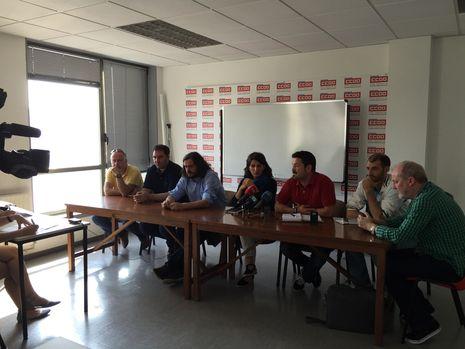 .Comparecencia de miembros de AGE con el comité de Alcoa