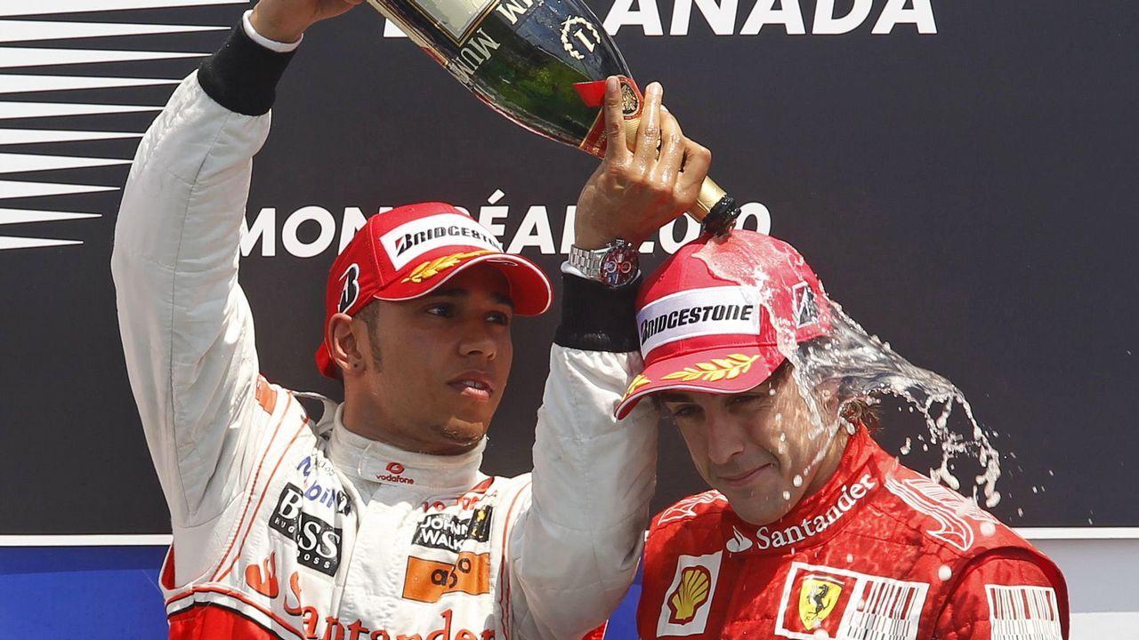 .Alonso y Hamilton, una rivalidad histórica