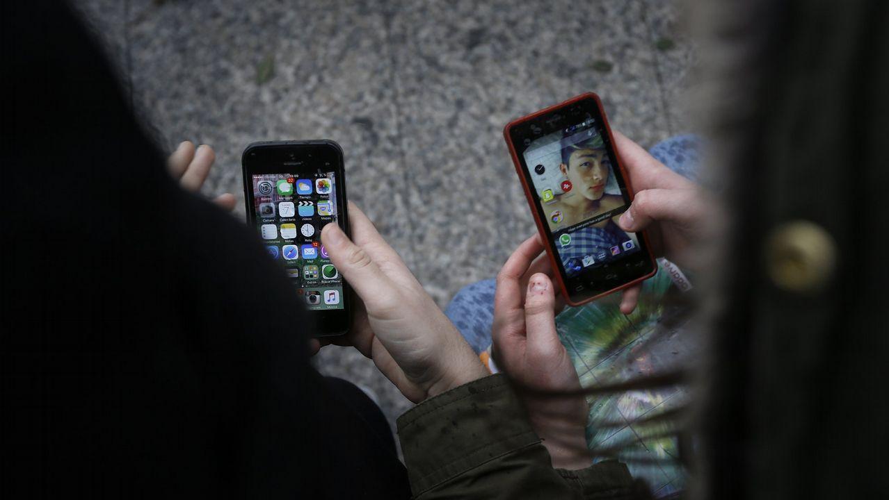 Un tercio de los menores gallegos que usan Whatsapp tienen menos de 11 años.