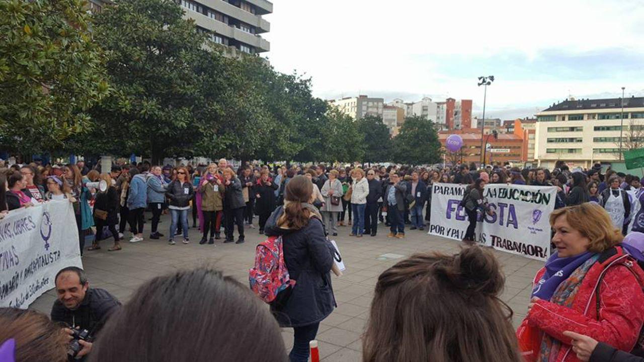 .Manifestación del 8M en Gijón