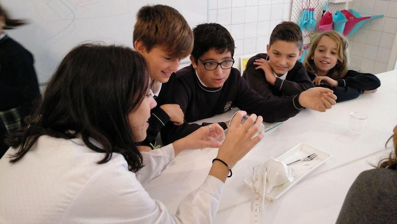 La ciencia en la USC se hace la interesante.Con el Día Mundial de la Ciencia para la Paz y el Desarrollo la ONU pretende acercar la ciencia a la sociedad