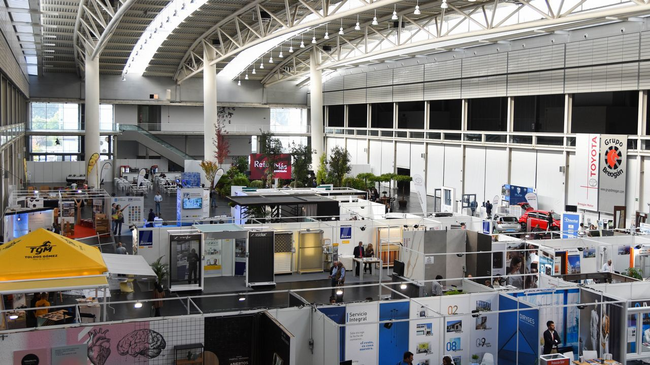 Expo Coruña inauguracion INMOgalicia y feria ReforMAS carlos quintana