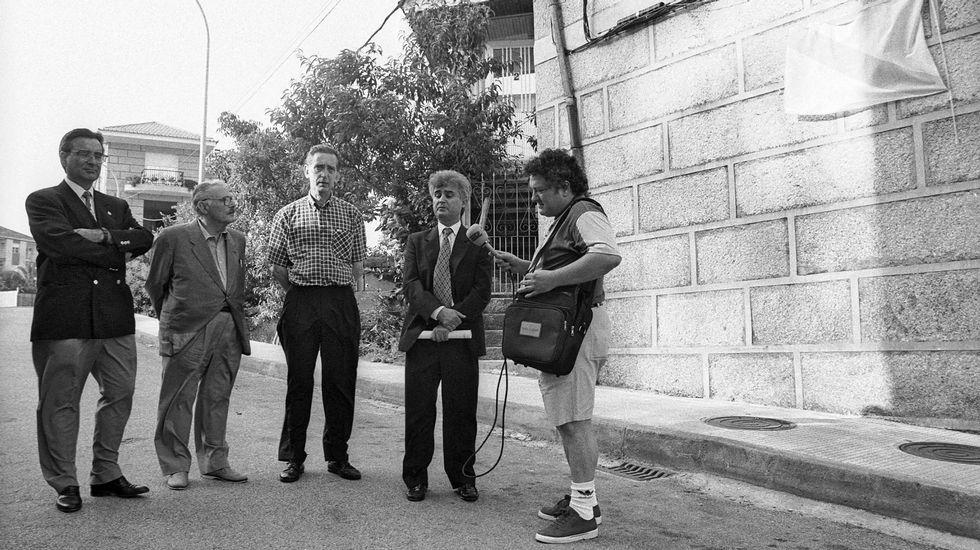 .Eduardo Chao cuenta con una calle en Ribadavia