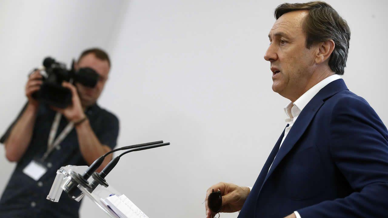 .Sánchez, quien ayer visitó a Merkel, pidió a las fuerzas políticas que los acercamientos no sean un elemento de división