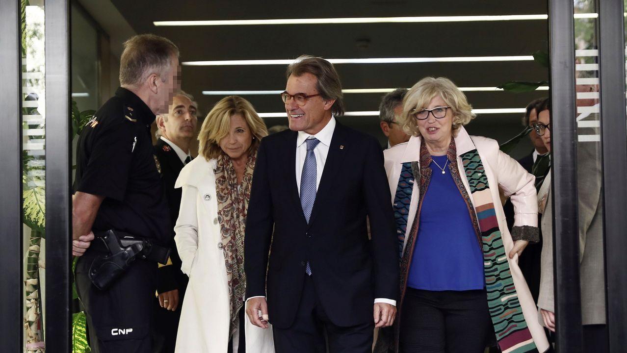 La exconsejera Ortega y Mas salen del Tribunal de Cuentas