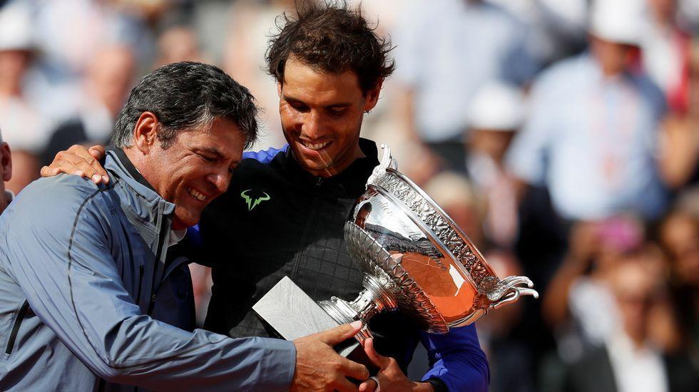 Roland Garros: El partido entre Nadal yWawrinka, en imágenes.