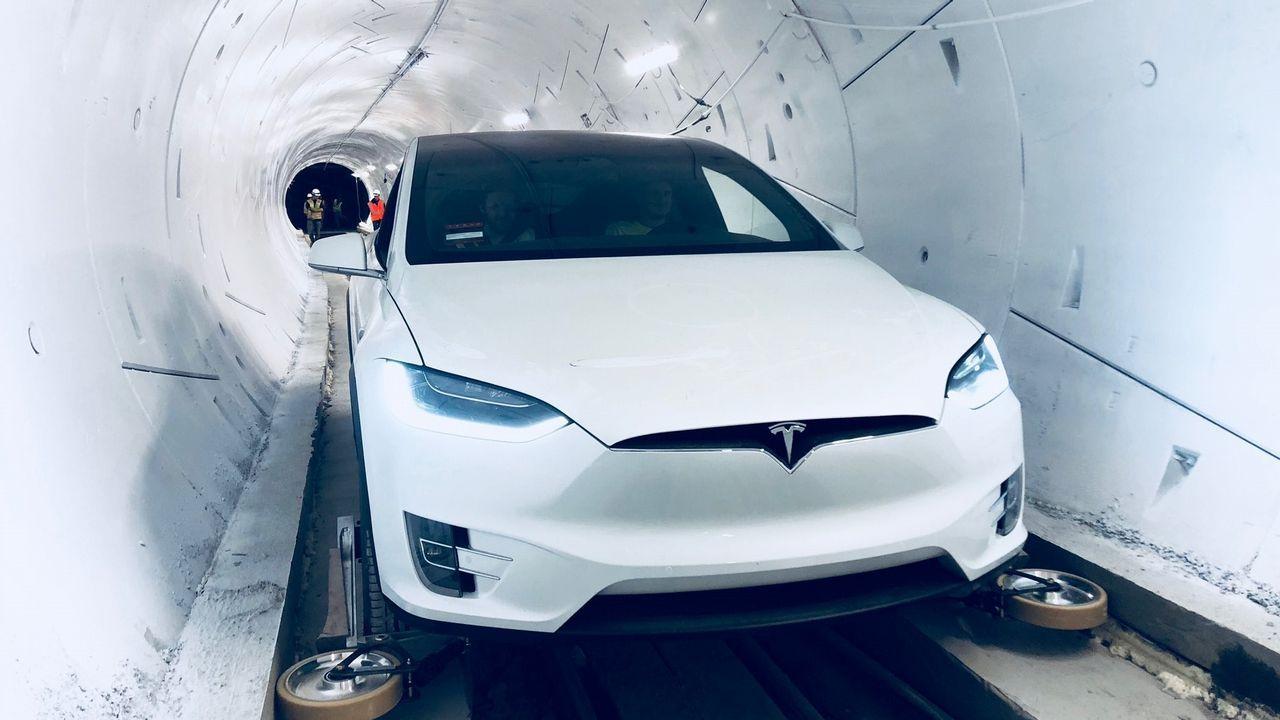 Así es el túnel de Elon Musk