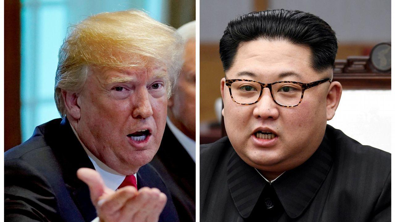 Donald Trump y Kim Jong-Un ya están en Singapur.Histórico encuentro entre Donald Trump y Kim JOng-un
