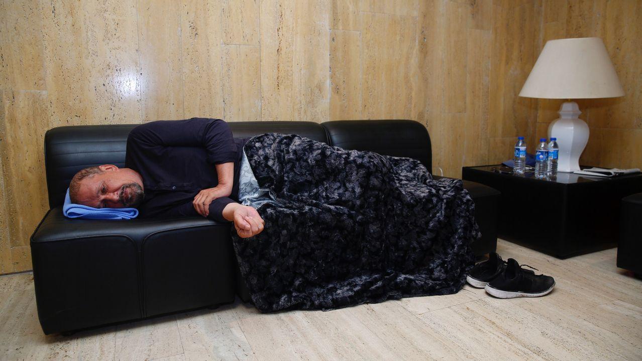 El médico y músico Luis Emilio Batallán, en huelga de hambre