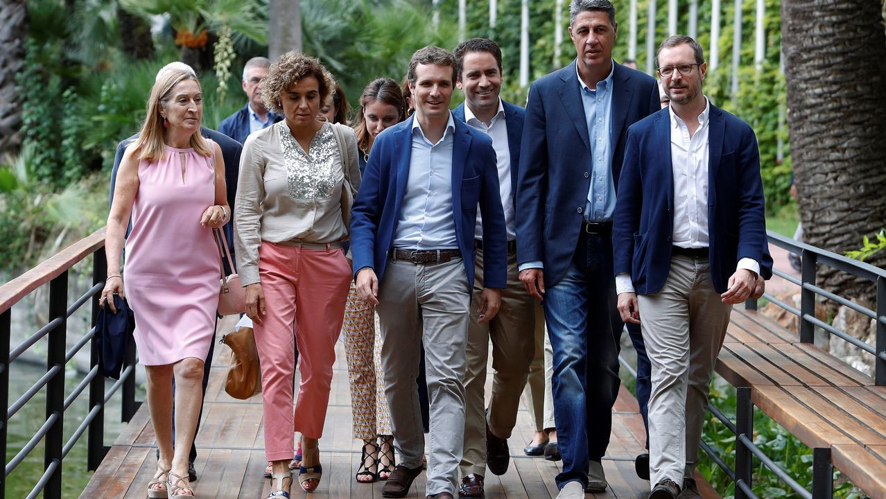 Cumbre interautonómica en la que participan los presidentes de los gobiernos de Castilla y León, Juan Vicente Herrera, Galicia, Alberto Núñez Feijoo, Asturias, Javier Fernández, y Aragón, Francisco Javier Lambán.