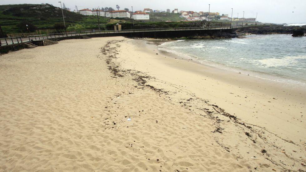 Playa de Area Grande, en A Guarda
