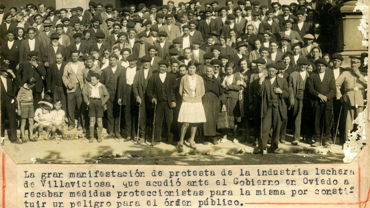La Asturias que llenó los ojos de la emigración cubana.La escultura 'La madre del emigrante', en Gijón