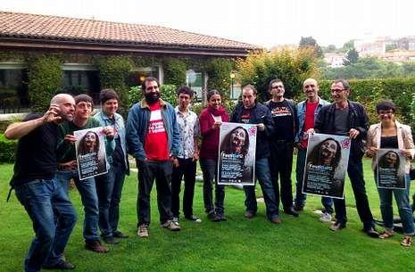 Los responsables de Galiza Sempre y Galiza Nova presentaron ayer Festigal en el hotel Virxe da Cerca.