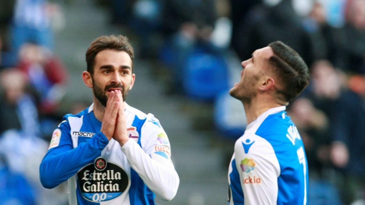 El debut del Deportivo en el Metropolitano, en imágenes.Pedro Correia