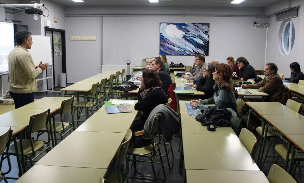 Las actividades formativas coordinadas desde el centro son solo para profesores en activo.