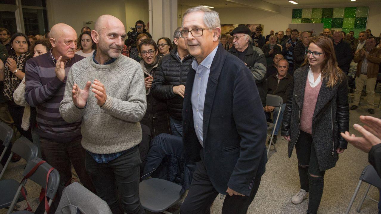 Presentación de Evencio Ferrero como candidato a la reelección como alcalde.El nuevo look de Lara Álvarez