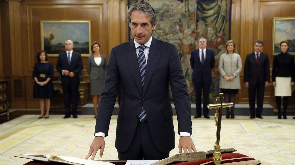 El ministro de Fomento, Íñigo de la Serna Hernáiz.