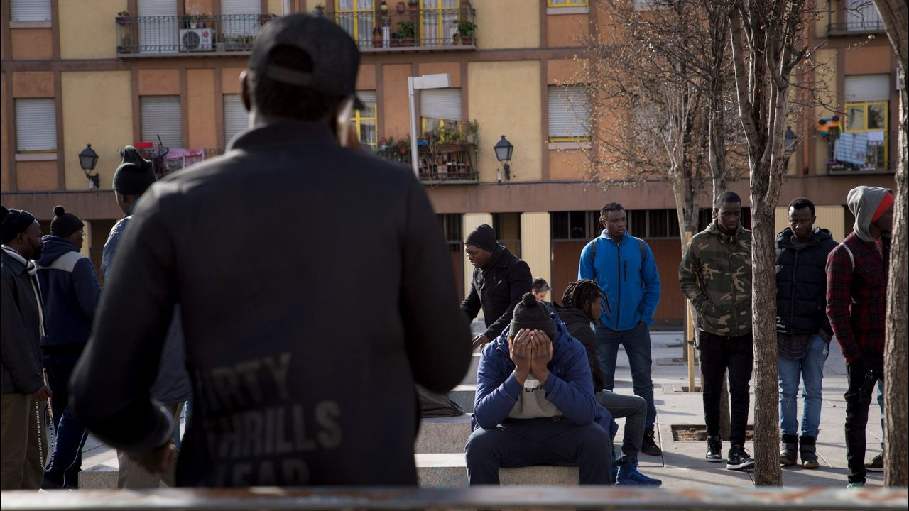 Nuevos disturbios en el barrio madrileño de Lavapiés