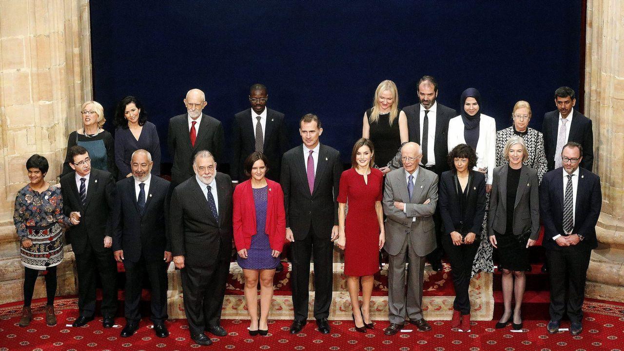 En los premios Princesa de Asturias del año 2015