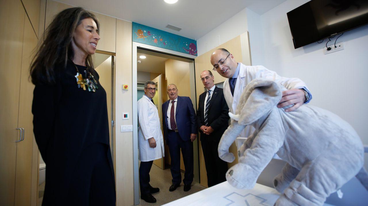 Se inaugura la unidad de Oncopediatría en el Materno infantil.