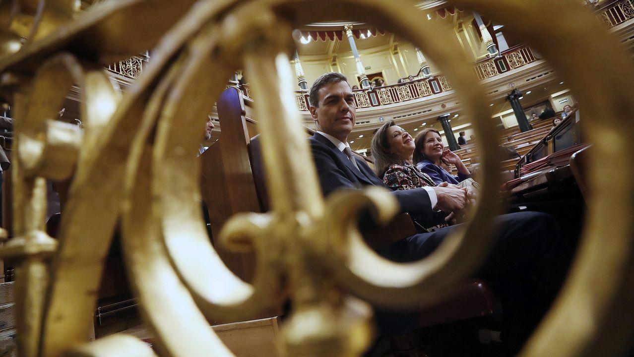 Los vascos del PNV esperarán al discurso de Pedro Sánchez para decidir si apoyan la moción de censura.