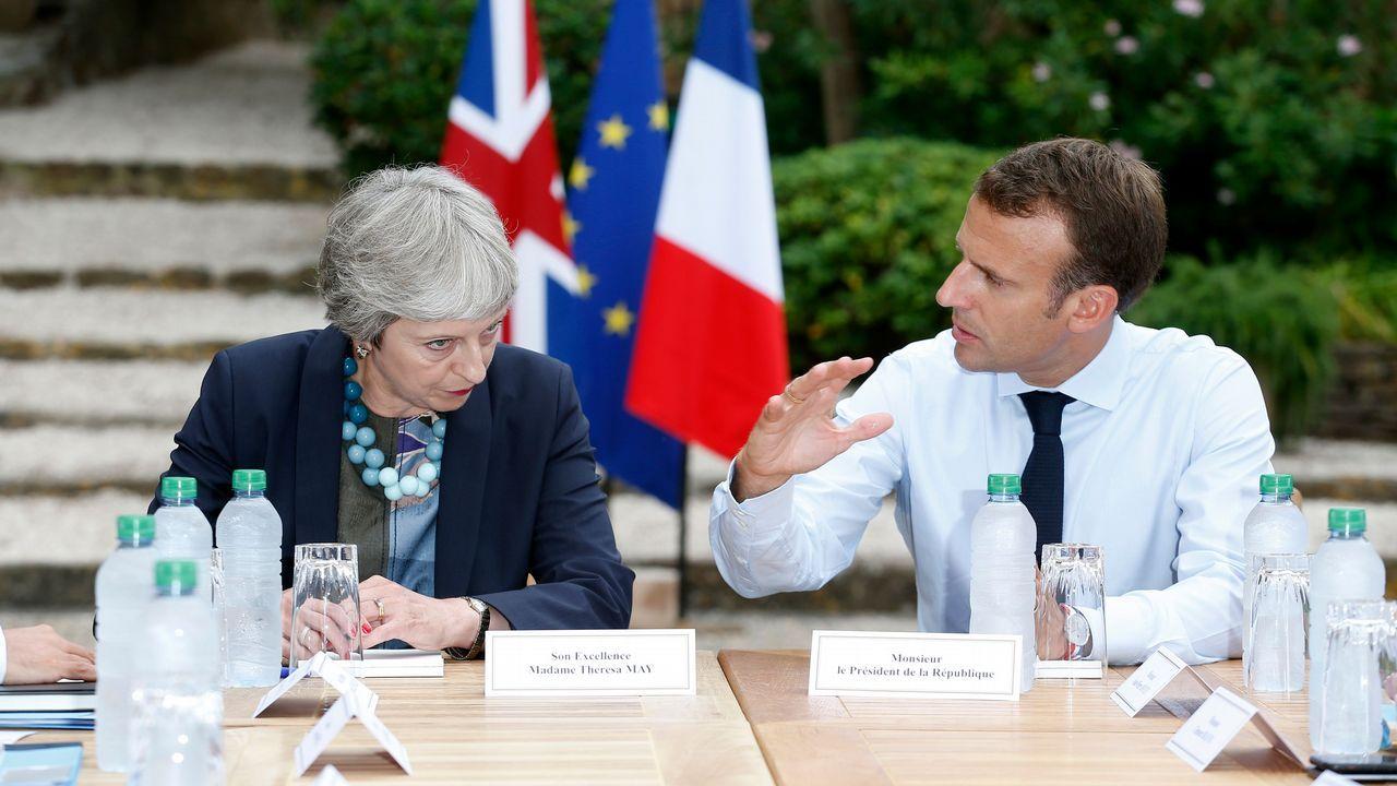 La Comisión Europea aprueba el fin del cambio de hora.Macron recibió a May en Fort de Brégançon, un castillo del siglo XVII erigido sobre un peñón de la Costa Azul