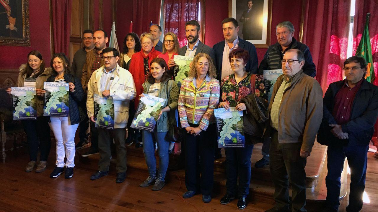 Los dueños del centro geográfico de Galicia