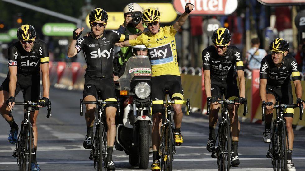 Las mejores imágenes de la última etapa del Tour de Francia.