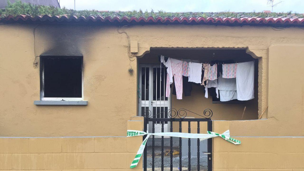 Muere una octogenaria en un incendio en A Illa de Arousa