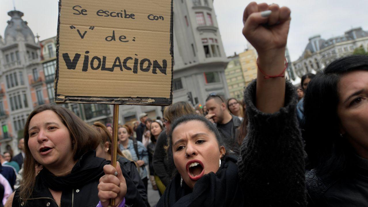 .Protestas en Asturias por la sentencia de la Manada