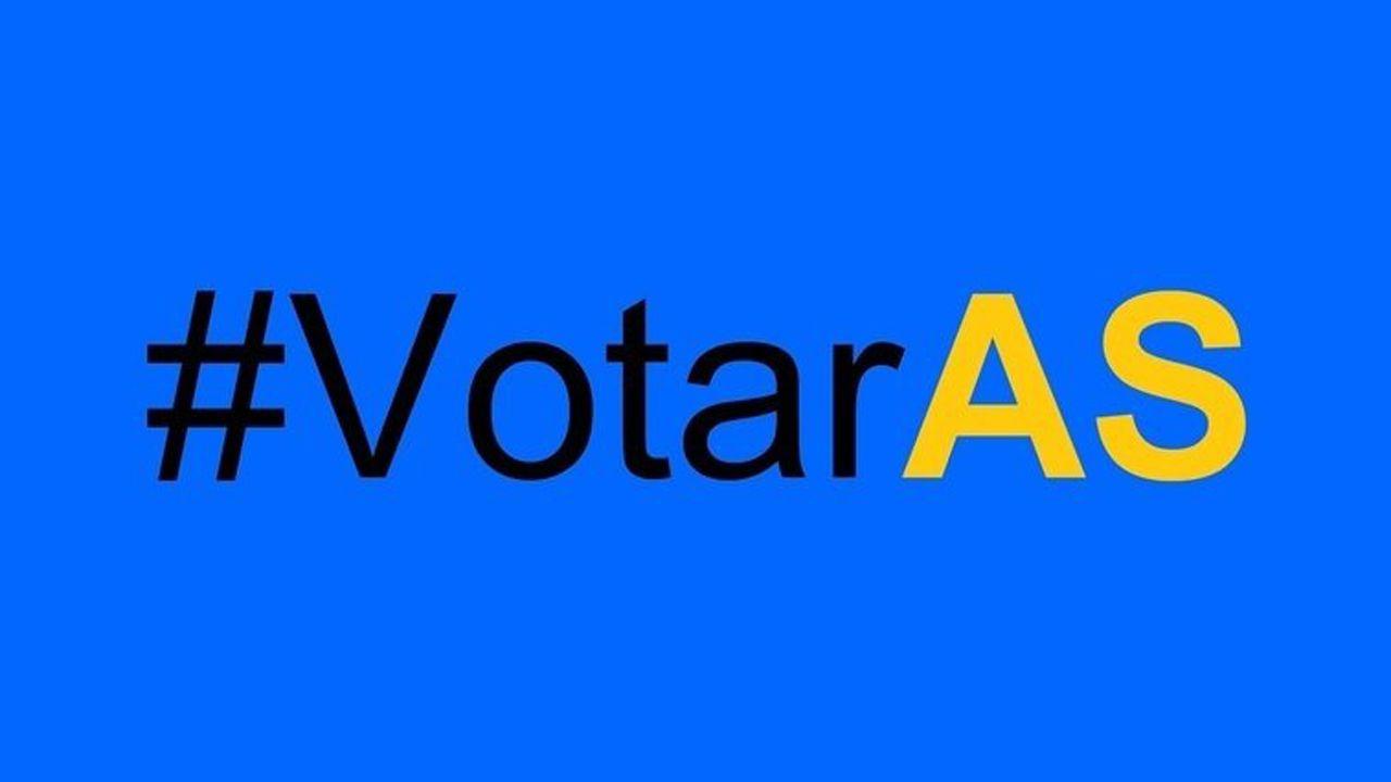.Imagen de la petición de change.org que reclama el derecho al voto de los asturianos que viven fuera de la región pero en territorio español